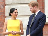 Meghan Markle is three years older than Prince Harry.