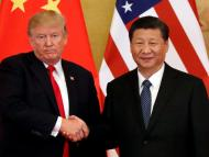 President Donald Trump and China's President Xi Jinping meet in Beijing in November.