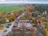 Sätra Brunn, un pueblo a la venta en Suecia.