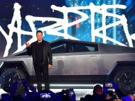 In December, Musk was spotted driving to dinner in Malibu, California, in Tesla's new Cybertruck.
