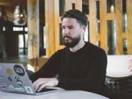 El CEO y cofundador de Buffer, Joel Gascoigne.