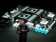 El CEO de Nvidia, Jensen Huang.