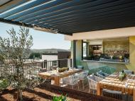 Expect a blurred line between indoor and outdoor areas in hotels. Hotel San Luis Obispo in California pictured.