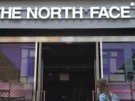 A North Face on London's Carnaby Street.