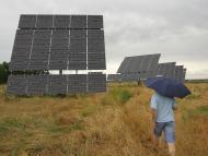 Una planta solar en el noreste de España