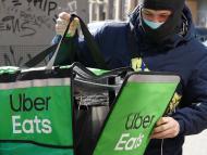 Repartidor Uber Eats