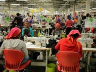 Trabajadoras en una fábrica en Hawassa, Etiopía