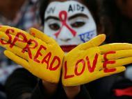 Campaña contra el sida