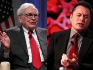 Elon Musk is now officially richer than Warren Buffett after Tesla's stock hits an all-time high