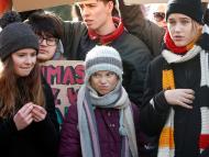 Greta Thunberg, Isabelle Axelsson y Luisa Neubauer