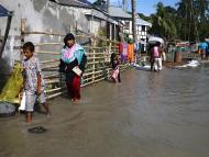 Inundaciones en Dhaka (Bangladesh)