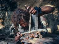 Los neandertales pueden haber sido tan inteligentes como los humanos.