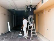 Pintor y reparación de electricista