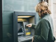Retirada de dinero en cajero