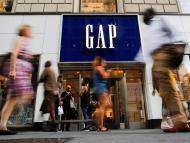 Una tienda de Gap en Nueva York