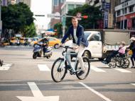 Ties Carlier, cofundador del fabricante holandés de bicicletas eléctricas Vanmoof