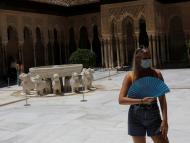 Turista en Granada