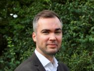 El vicepresidente de estrategia y crecimiento de Medius, Erik Hammarberg.