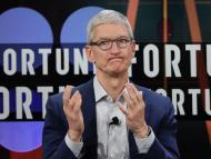 Apple CEO Tim Cook. Marcio Jose Sanchez/AP