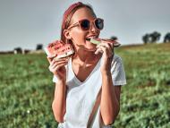 Beneficios de comer sandía.