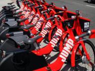 Bicicletas Jump en San Diego, California.