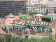 Casa okupa en Barcelona
