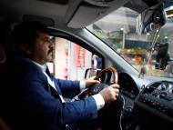 Un conductor en Estambul