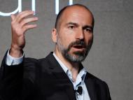Dara Khosrowshahi, CEO de Uber, en un evento de 2018 en Nueva York