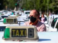 La huelga de taxistas en Madrid por la caída de demanda del coronavirus