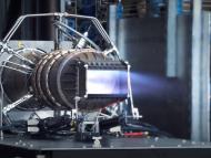 Un motor de un prototipo de Hermeus