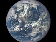 A photo of Earth taken by NASA's imaging camera. REUTERS/NASA/Handout via Reuters/File Photo
