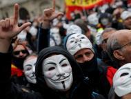 Policías V de Vendetta