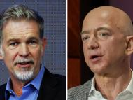Reed Hastings y Jeff Bezos