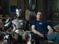 Robert Downey Jr. como Iron Man en 'Iron Man 3'.