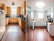 Small updates, like paint on cabinets, can massively improve your space. Leslie Rodriguez Photography