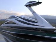The Avanguardia concept megayacht. Lazzarini Design Studio
