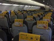Avión vacío de Vueling