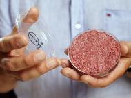 Una carne fabricada en el laboratorio.