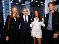 Delphine Arnault, Bernard Arnault, Rihanna, and Alexandre Arnault at the Fenty launch in May 2019 in Paris. Julien Hekimian/Getty Images for Fenty