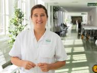 La doctora Carolina García Vidal, impulsora del Centro Digital del Covid.