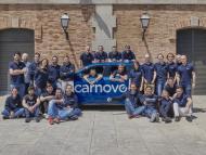 Equipo de la startup Carnovo.