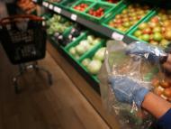 Fruta en el supermercado Dia.