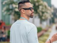 Gafas que utilizarán los empleados de Facebook para 'Project Aria', su iniciativa de realidad aumentada.