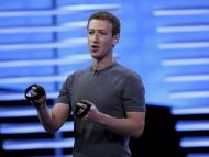 Mark Zuckerberg, en una presentación de Oculus en 2019.