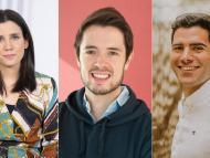 Mireia Badía, fundadora de Grow.ly; Borja Aranguren, CEO de Cobee; Daniel Espejo, country manager de Klarna en España