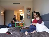 niños en casa, teletrabajo