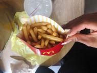 Patatas fritas de McDonalds.
