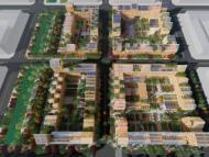 Una renderización de la ciudad del futuro diseñada por Vicente Guallart
