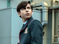 Aidan Gallagher en la segunda temporada de 'The Umbrella Academy'.