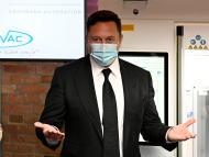 Elon Musk, en una presentación en Berlín (Alemania)